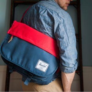 Hershel Sanford messenger, tech savvy bag